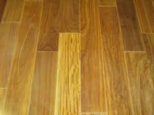Engineered Santos Mahogany 1-strip hardwood flooring