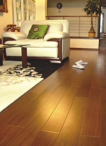 Awesome Ipe Wood Flooring Modern Room