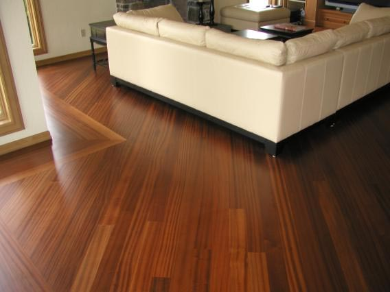 Engineered Prefinished Sapele Flooring