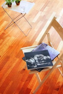 Kempas wood picture