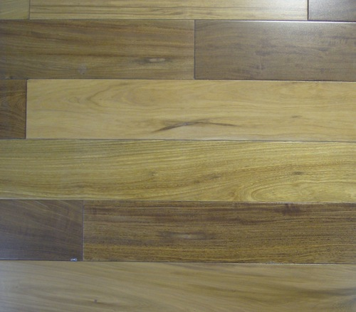 Unfinished Ipe Brazilian Walnut Flooring