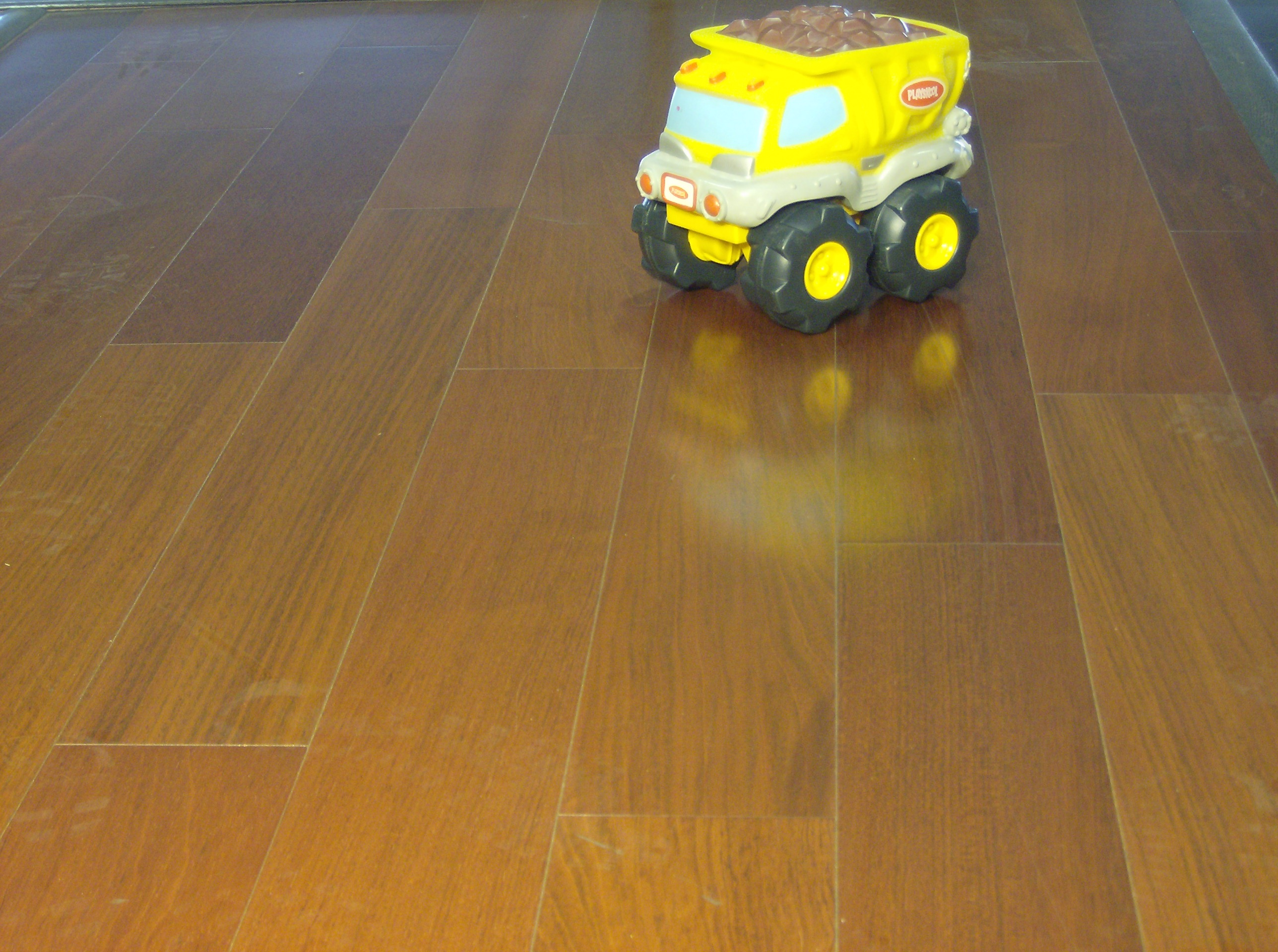 Unfinished Brazilian Cherry Flooring