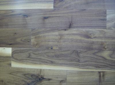 American walnut flooring engineered unfinished for Unfinished walnut flooring