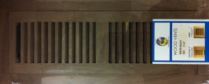 American Walnut vent cover