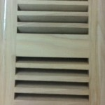 Hickory wood vent insert type