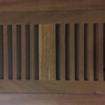 Santos Mahogany Vent Covers - Flush Type